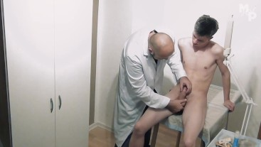 Dan Darkwood has an examination with Dr. Marcus Pollack