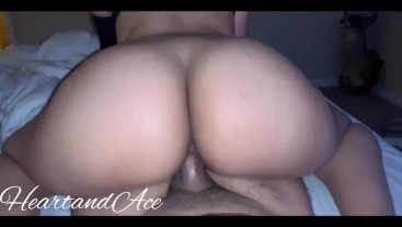 Thick Latina Twerks On Dick Reverse Cowgirl
