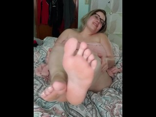 Fresh Feet Towel Tease Pt. 1 (Pt. 2 on channel!)
