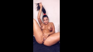 oiled up butt plug premium snapchat show
