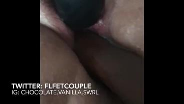 Fisting white slut until she squirts