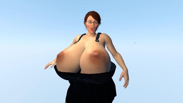 Expansion 3d breast 3D Comics