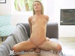 PASSION-HD Soaked Pussy Craves Big Dick Penetration