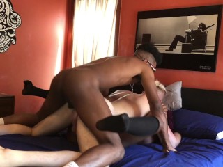 FIRST Bisexual MMF Threesome with Blake Bishop