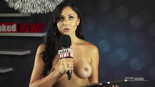 Naked news - guys Naked news at denver exxxotica