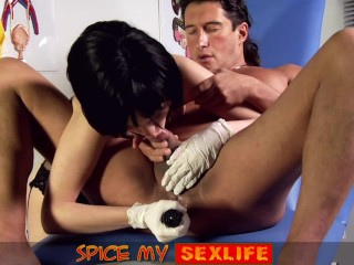 Spice My Sexlife Nurse FemDom with Male Anal Action