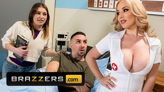 Nurse foot job - Brazzers - extra thicc nurse savannah bond gets pounded