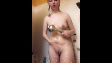 Shower Fun While High On Snapchat