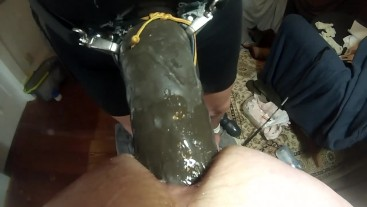 SUBMISSIVE HUSBAND-Femdom Pegging with Huge Strapon