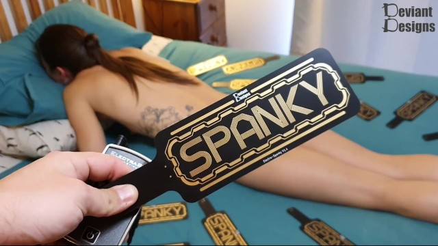Big asses in spankies - The spanky - a pcb estim paddle