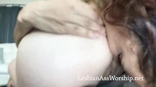 Diamond and Gia Love Lesbian Ass Eating
