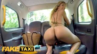Den blonda skönheten och taxichauffören