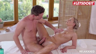 LETSDOEIT - Married Czech Babe Can't Help But Seduce And Fuck Her Masseur