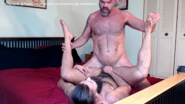 Raw Creampie Sex for FTM from Hung Uncut Daddy: Trip & Lance Fuck