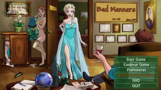 Disney hentai porn torrent - Lets fuck disneys frozen bad manners uncensored gameplay episode 2