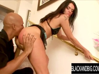 Black and Big Spanking n Eating Aa Diors Phat Ass Before Plowing Her alyssa dior