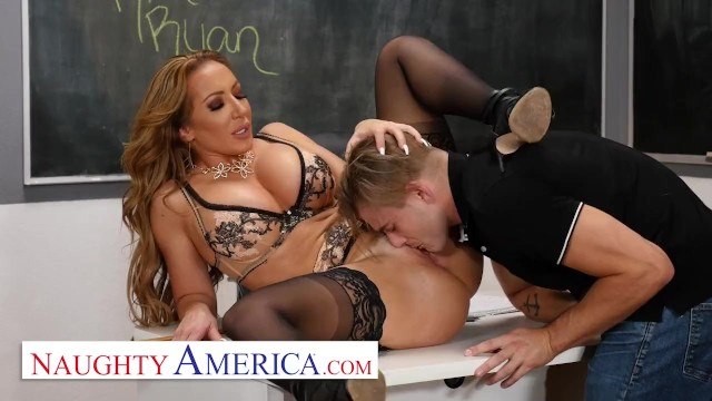 My firstt sex teacher Naughty america - richelle ryan fucks her college student
