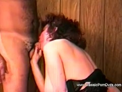 Hairy Nostalgic Fuck-a-thon From 1975 With Chubby Girlfriend