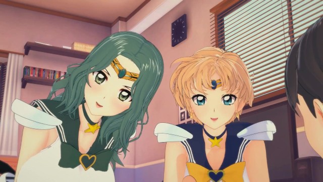 The uranus project sex scene - 3d hentaisailor moon threesome with sailor neptune and sailor uranus
