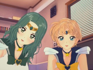 Sailor neptune/hentai sailor neptune sailor and 3d