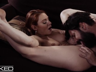 Wicked Redhead Lacy Lennon Pounded On The Couch Lacy Lennon, Tommy Pistol