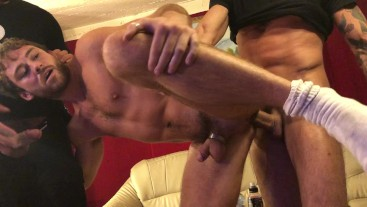 MAX ADONIS FUCKED BY GIANNI MAGGIO BACKSTAGE HUSTLABALL BERLIN