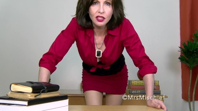 Cruel Teacher Mindfucks your Boner - mrs Mischief Femdom POV Mind Control