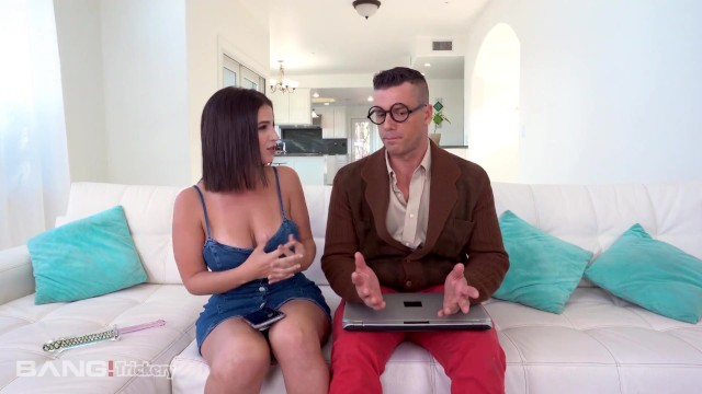 Manuall remove porn from computer - Trickery - busty latina tricks computer nerd into sex