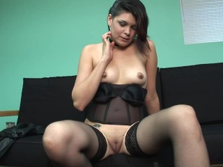 Brunette Small Tt Teen Fngered Her Shaved Wet Puss