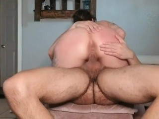 MILF Latina Rides A Big Dick And Gets Spanked