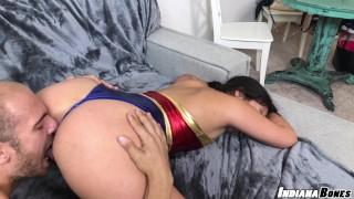 Violet Starr Slutty Trick Or Treat Halloween Cosplay Wonderwoman