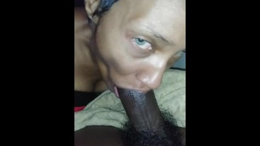 HORNY MILF GETS THROAT FUCKED AND STUFFED
