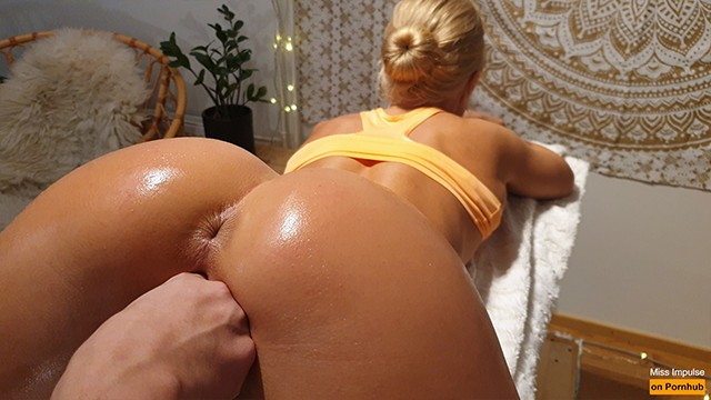 Fucking impulse - Real amateur couple orgasming and squirting simultaneously from anal
