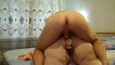 I fuck my old fat mother-in-law in anal.-3