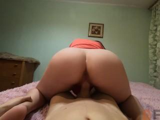 Fuck stepsister in parent's bedroom
