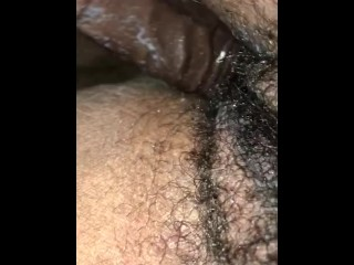 Tight Pussy getting fucked by 6.5 in dildo