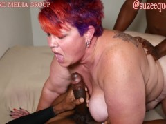 Suzee Que Bbw Gets A Bbc Gangbang