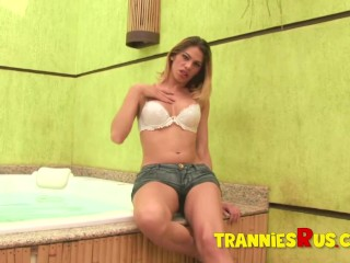 Tranniesrus too hot for porn shemale omg...