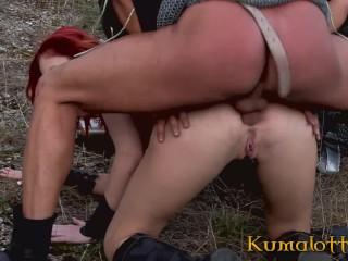 Kumalott t ATM Fuck The Gnger ess Wth Bg boobs