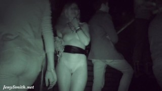 Got naked in a dark corner of a club Caught!