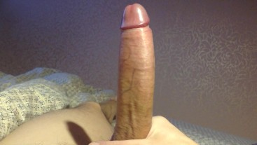 """Playing with my dick. What do you think?"""""""