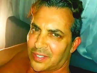 Hot Daddy Caught Masturbating In Naked...