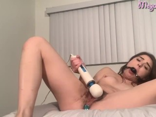 Ballgagged buug clt torture Megan Marx