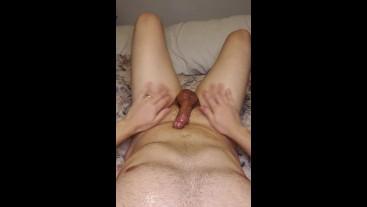belly button slick shiny solo masturbation sensual talk loud orgasm