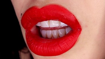 Red lipserizing with JOI