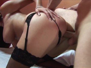 Horny Bg Tt Brunette Sster Shares Cock and Toys on Ther Wet Pussy