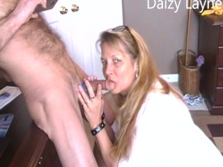 My Bu Wfe Dazy Sucks and Swallows my Cum record for hm to watch