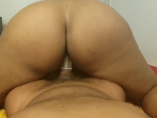 Thick Ebony Getting Stuffed For Thanksgiving Anal And Facial