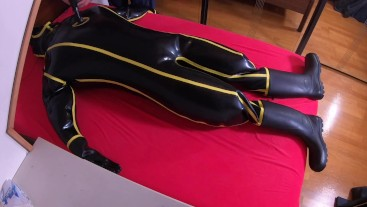 MD-Latex Inflation von Heavy Rubber Cyborg Suit