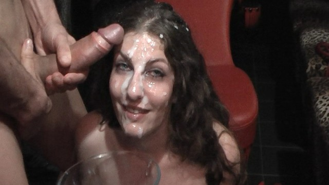 Extremal cum 40 guys massive cum covered bukkake gangbang with extreme gokkun - excerpt